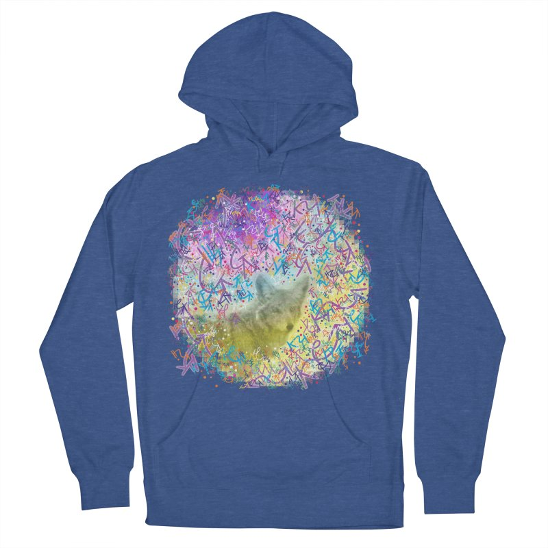 Chromatic Coyote Women's Pullover Hoody by VanillaKirsty's Artist Shop