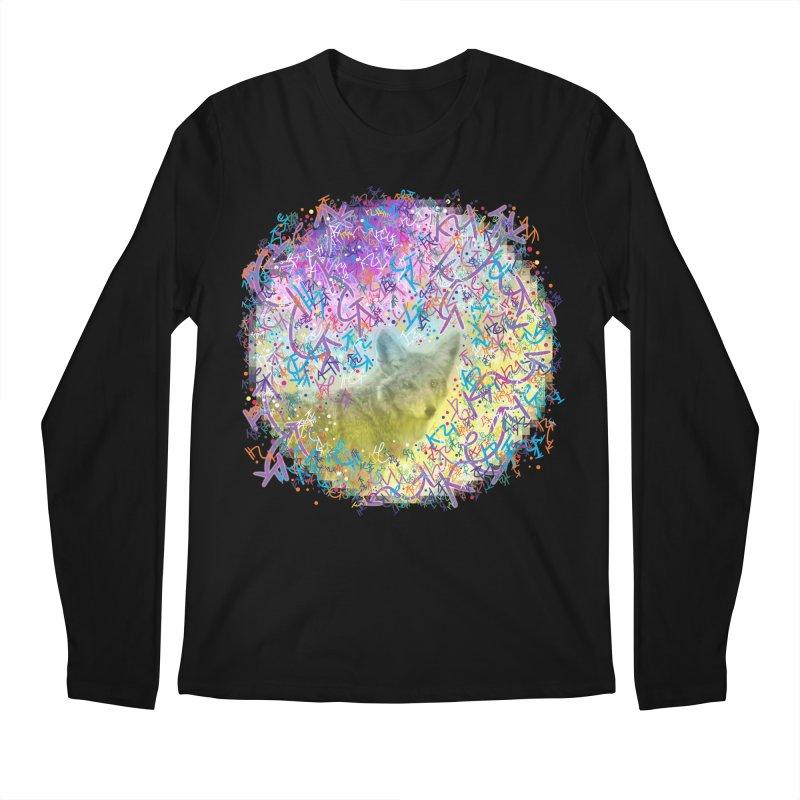Chromatic Coyote Men's Longsleeve T-Shirt by VanillaKirsty's Artist Shop