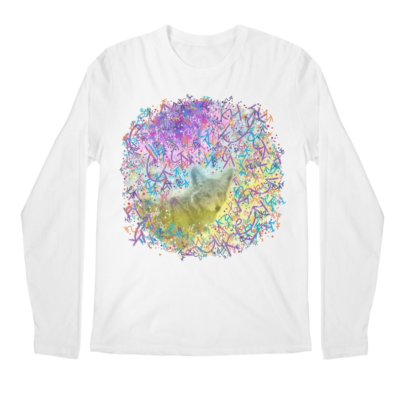 Chromatic Coyote Men's Longsleeve T-Shirt by VanillaKirsty's Artist Shop