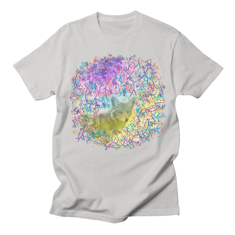 Chromatic Coyote Women's Unisex T-Shirt by VanillaKirsty's Artist Shop
