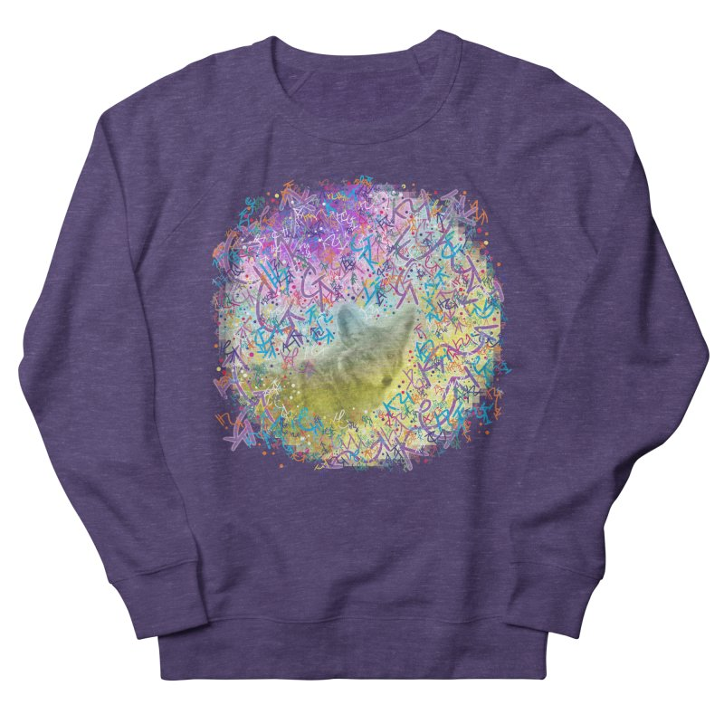 Chromatic Coyote Women's Sweatshirt by VanillaKirsty's Artist Shop