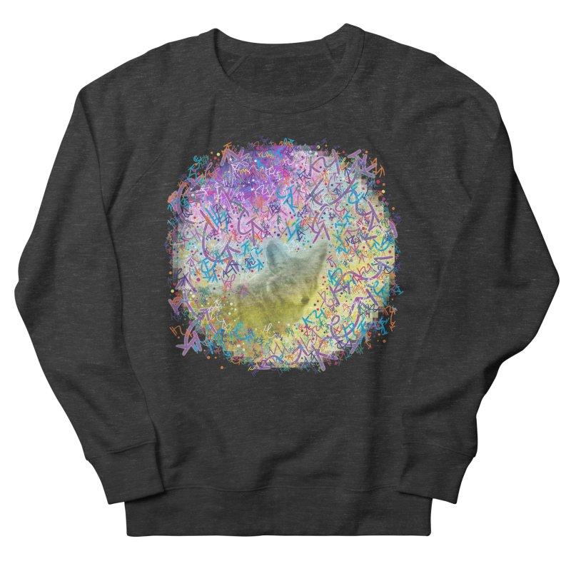 Chromatic Coyote Men's Sweatshirt by VanillaKirsty's Artist Shop