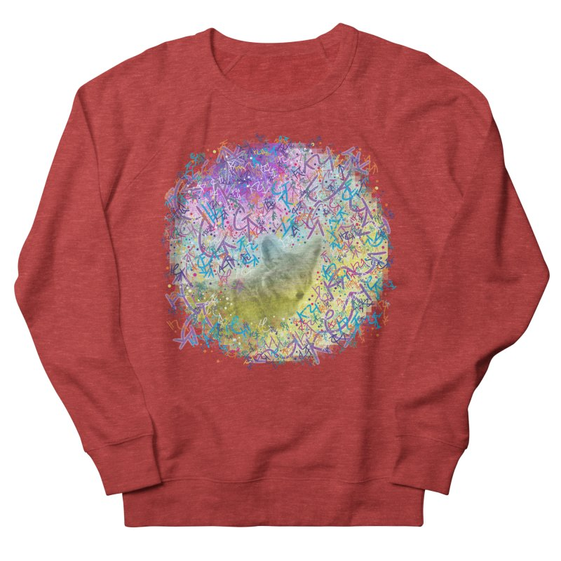 Chromatic Coyote Men's Sweatshirt by VanillaKirsty's Artist Shop