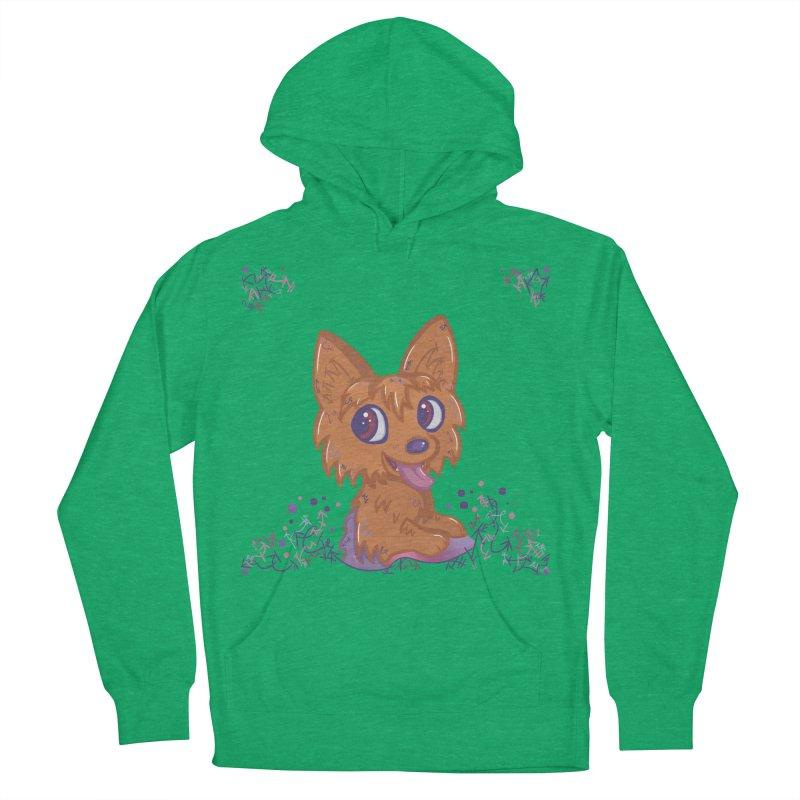 Little Yorkie  Men's Pullover Hoody by VanillaKirsty's Artist Shop