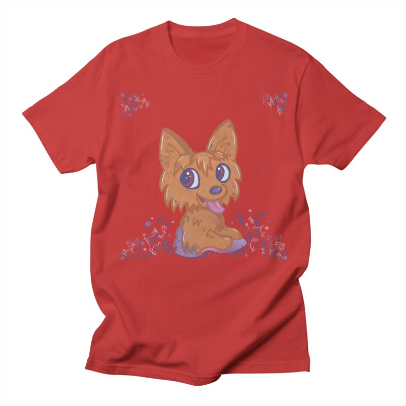 Little Yorkie  Women's Unisex T-Shirt by VanillaKirsty's Artist Shop