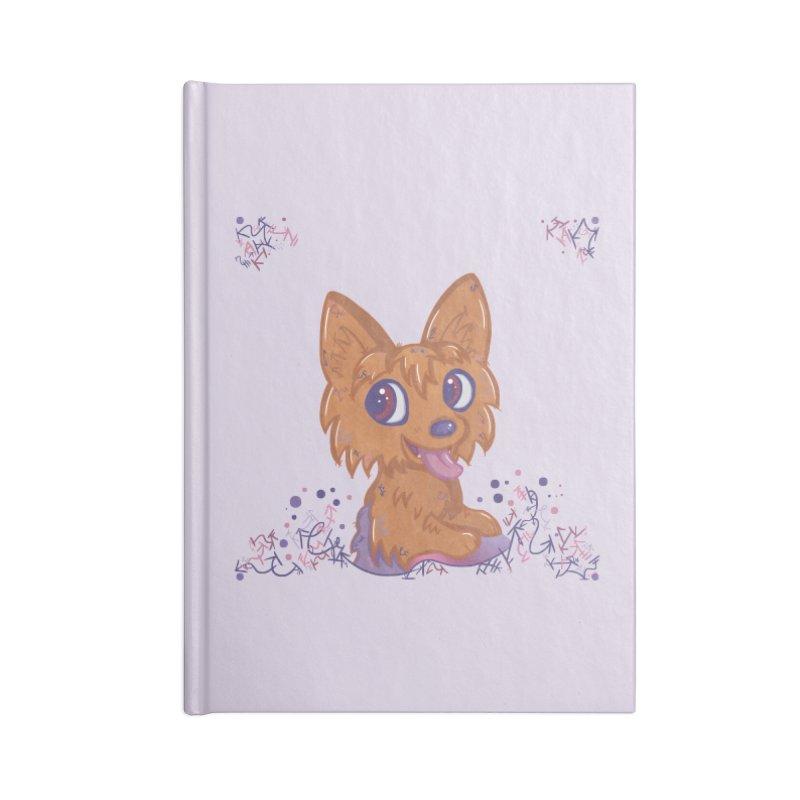 Little Yorkie  Accessories Notebook by VanillaKirsty's Artist Shop