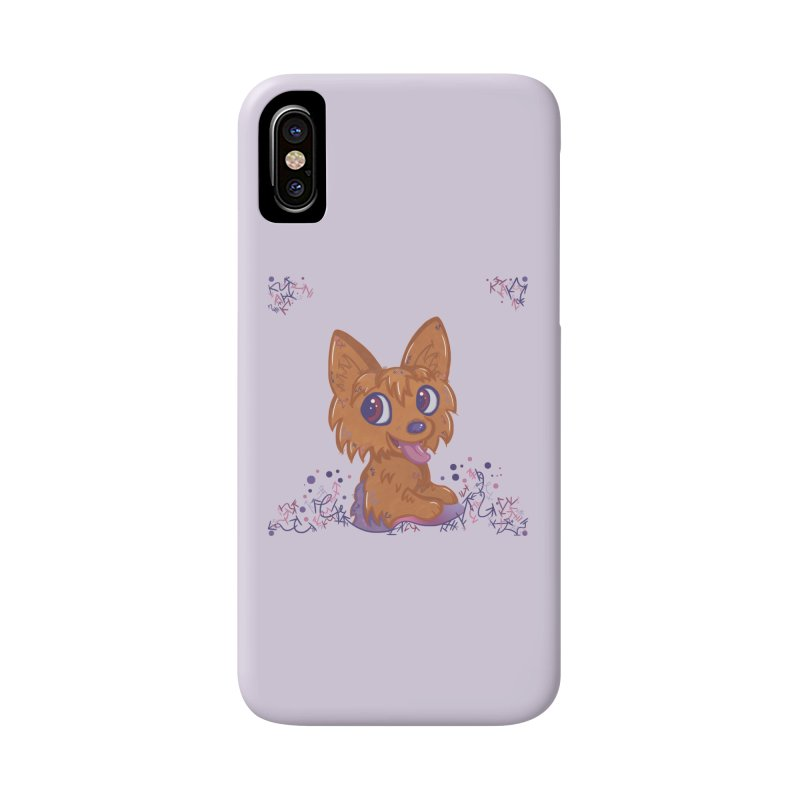 Little Yorkie  Accessories Phone Case by VanillaKirsty's Artist Shop