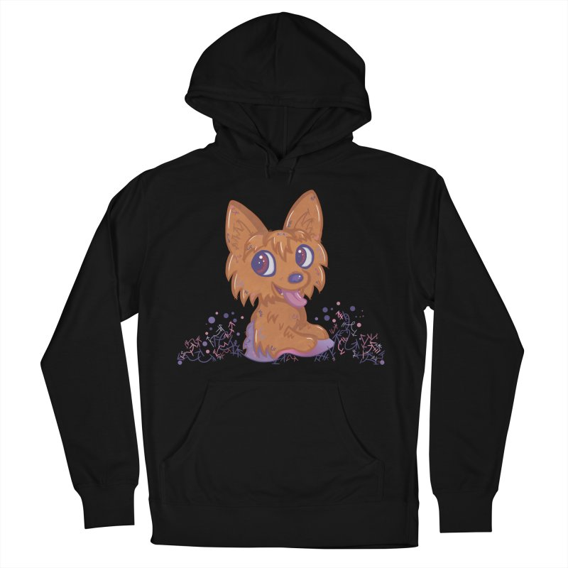 Little Yorkie  Men's Pullover Hoody by VanillaKirsty's Artist Shop