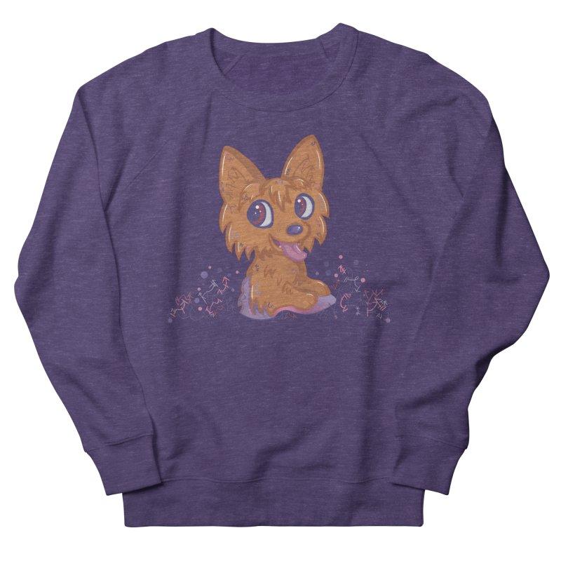 Little Yorkie  Men's Sweatshirt by VanillaKirsty's Artist Shop