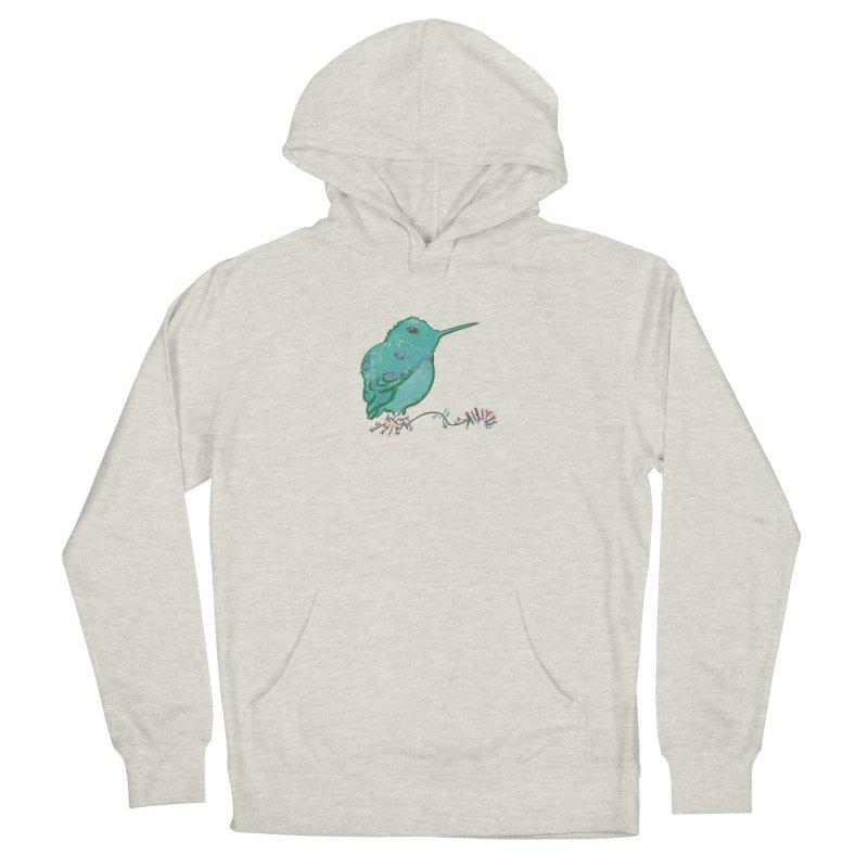 Tiny Hummingbird (Light Green) Women's Pullover Hoody by VanillaKirsty's Artist Shop