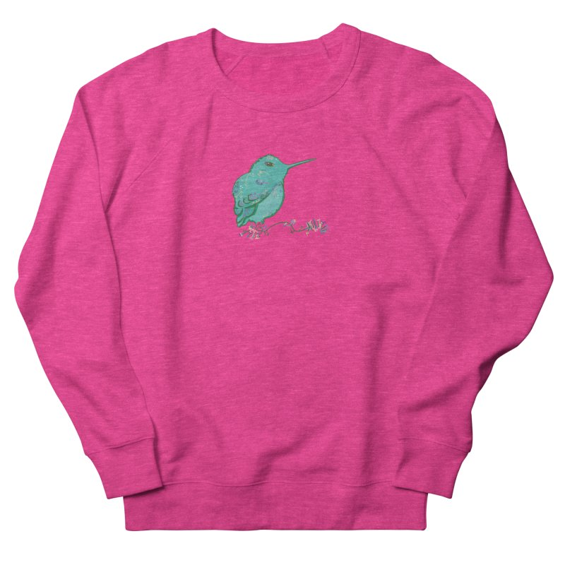 Tiny Hummingbird (Light Green) Men's Sweatshirt by VanillaKirsty's Artist Shop