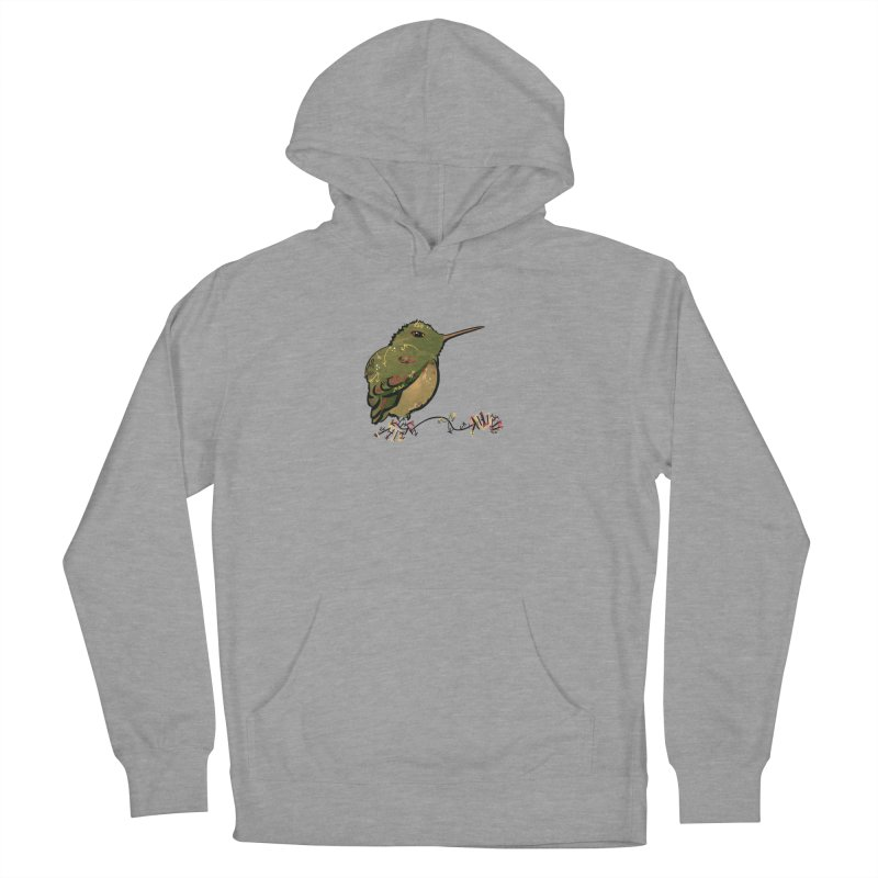 Tiny Hummingbird (Olive) Men's Pullover Hoody by VanillaKirsty's Artist Shop