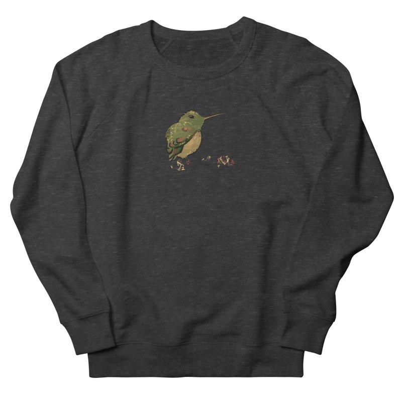 Tiny Hummingbird (Olive) Women's Sweatshirt by VanillaKirsty's Artist Shop