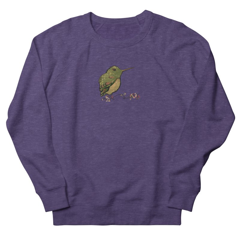 Tiny Hummingbird (Olive) Men's Sweatshirt by VanillaKirsty's Artist Shop
