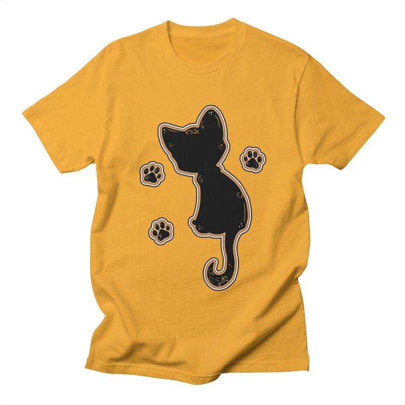 Mystical Little Kitty (Candy Corn I) Men's T-Shirt by VanillaKirsty's Artist Shop