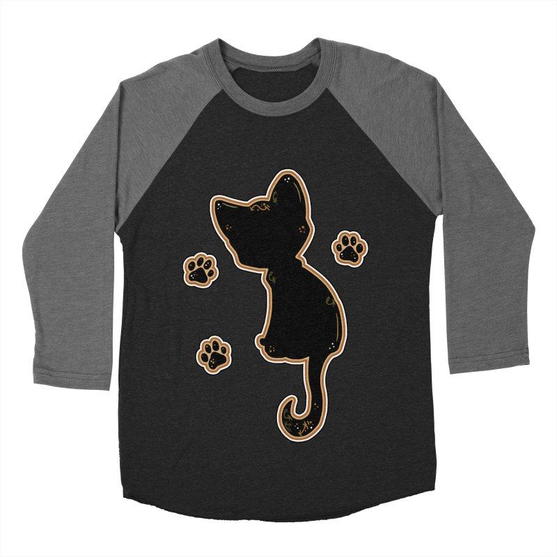 Mystical Little Kitty (Candy Corn I) Women's Baseball Triblend T-Shirt by VanillaKirsty's Artist Shop