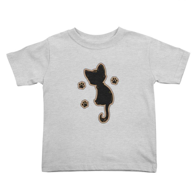 Mystical Little Kitty (Candy Corn I) Kids Toddler T-Shirt by VanillaKirsty's Artist Shop