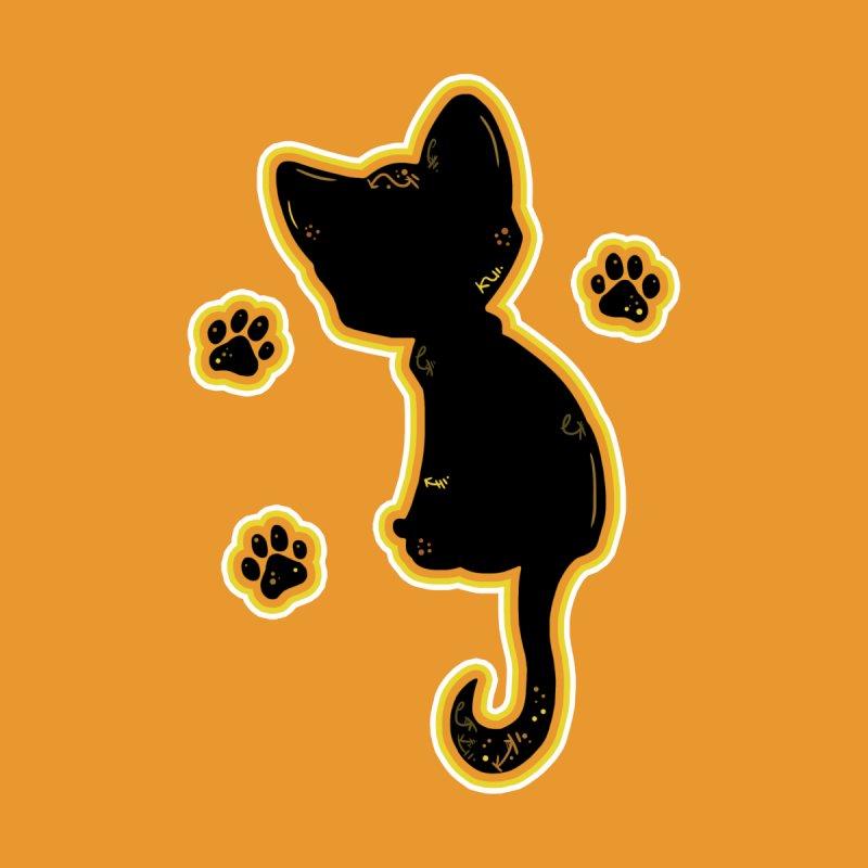 Mystical Little Kitty (Candy Corn II) by VanillaKirsty's Artist Shop