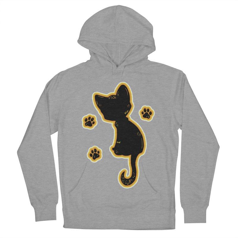 Mystical Little Kitty (Candy Corn II) Women's Pullover Hoody by VanillaKirsty's Artist Shop
