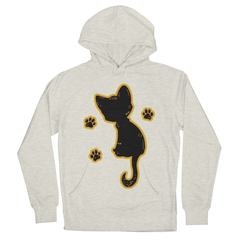 Mystical Little Kitty (Candy Corn II) Men's Pullover Hoody by VanillaKirsty's Artist Shop