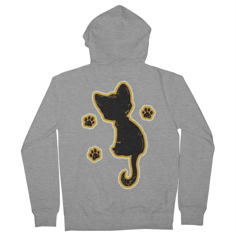 Mystical Little Kitty (Candy Corn II) Men's Zip-Up Hoody by VanillaKirsty's Artist Shop