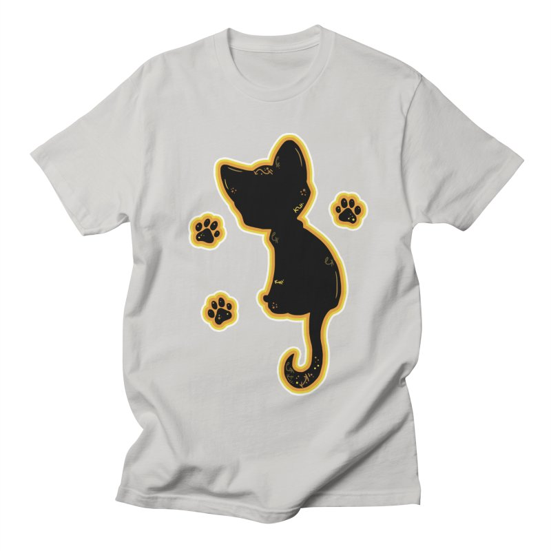 Mystical Little Kitty (Candy Corn II) Women's Unisex T-Shirt by VanillaKirsty's Artist Shop