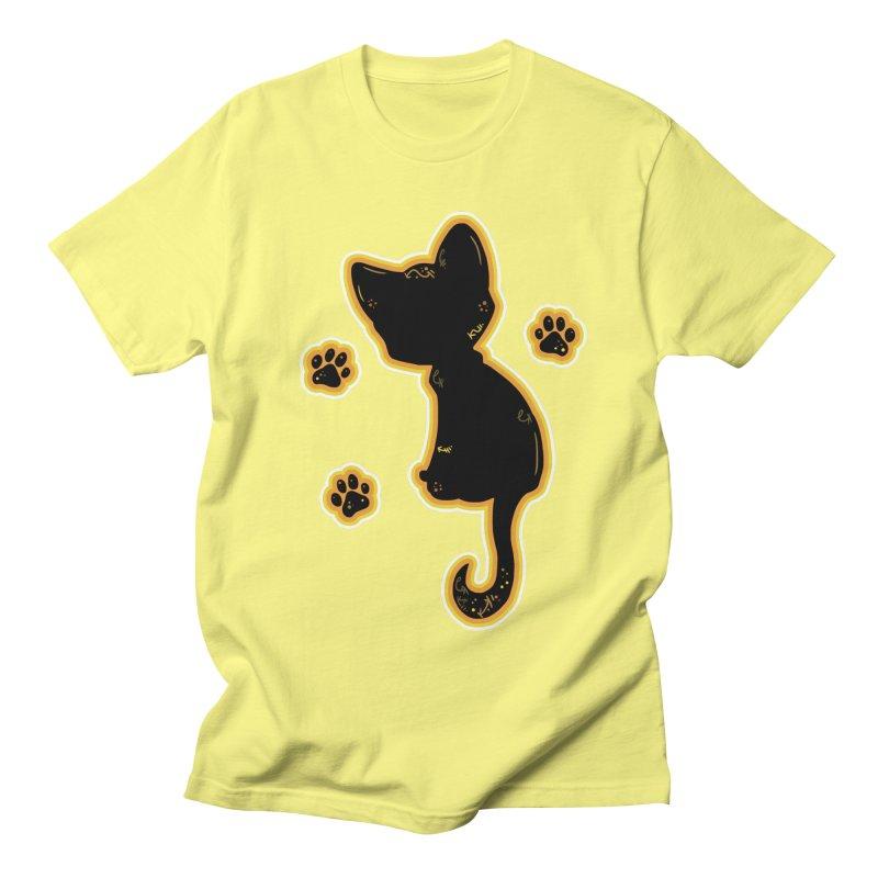 Mystical Little Kitty (Candy Corn II) Women's Unisex T-Shirt by VanillaKirsty's Artist Shop