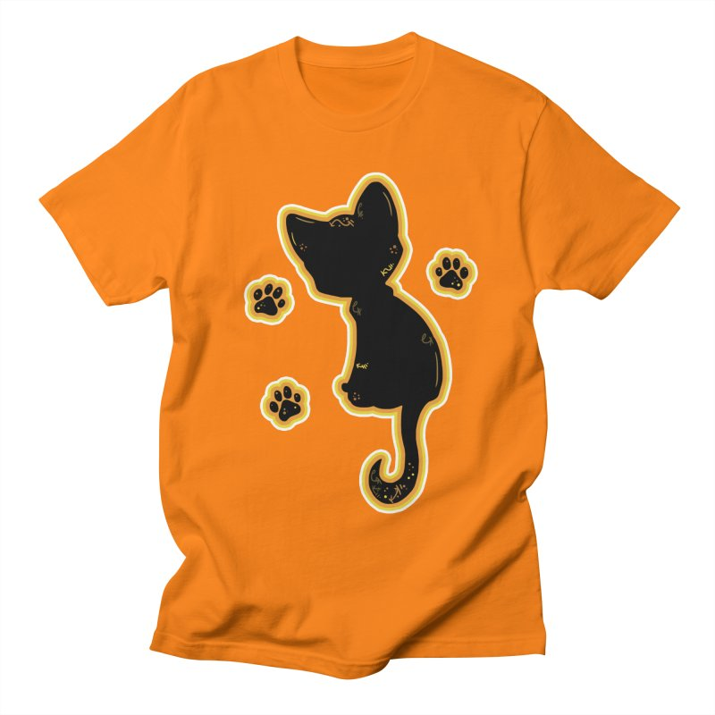 Mystical Little Kitty (Candy Corn II) Men's T-Shirt by VanillaKirsty's Artist Shop
