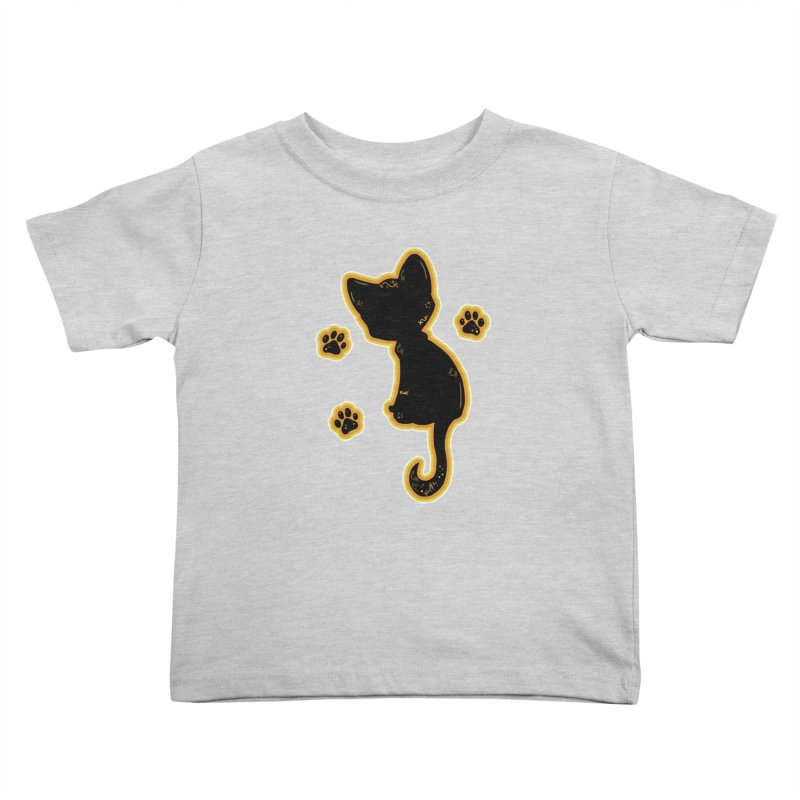 Mystical Little Kitty (Candy Corn II) Kids Toddler T-Shirt by VanillaKirsty's Artist Shop