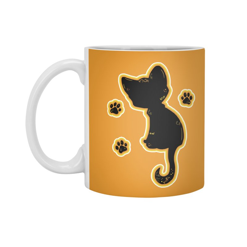 Mystical Little Kitty (Candy Corn II) Accessories Mug by VanillaKirsty's Artist Shop