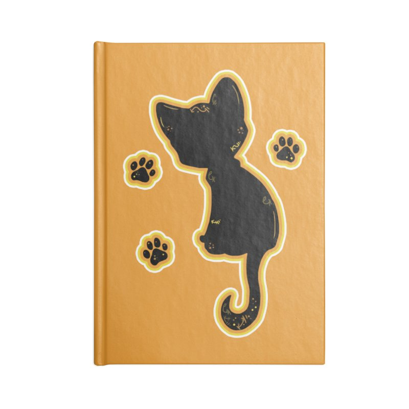 Mystical Little Kitty (Candy Corn II) Accessories Notebook by VanillaKirsty's Artist Shop