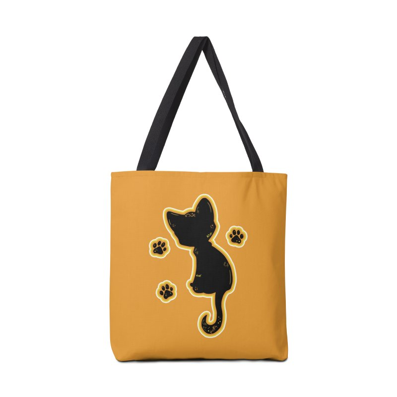 Mystical Little Kitty (Candy Corn II) Accessories Bag by VanillaKirsty's Artist Shop