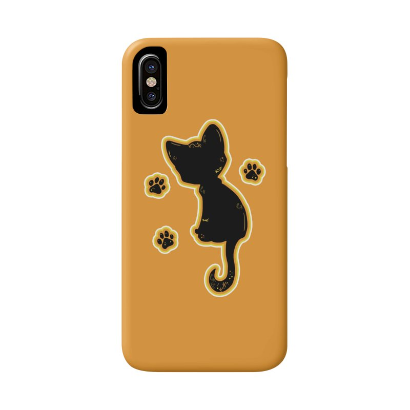 Mystical Little Kitty (Candy Corn II) Accessories Phone Case by VanillaKirsty's Artist Shop