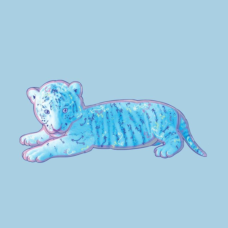 Little Blue Tiger Cub by VanillaKirsty's Artist Shop