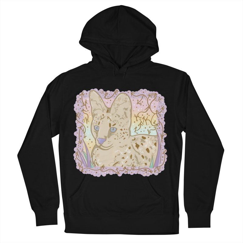 Little Serval Women's Pullover Hoody by VanillaKirsty's Artist Shop
