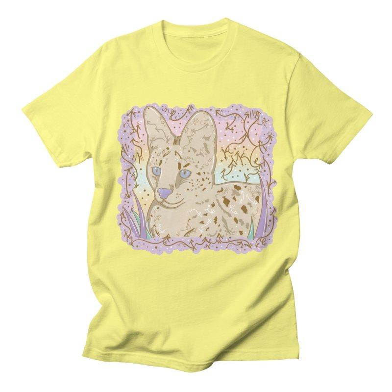 Little Serval Women's Unisex T-Shirt by VanillaKirsty's Artist Shop