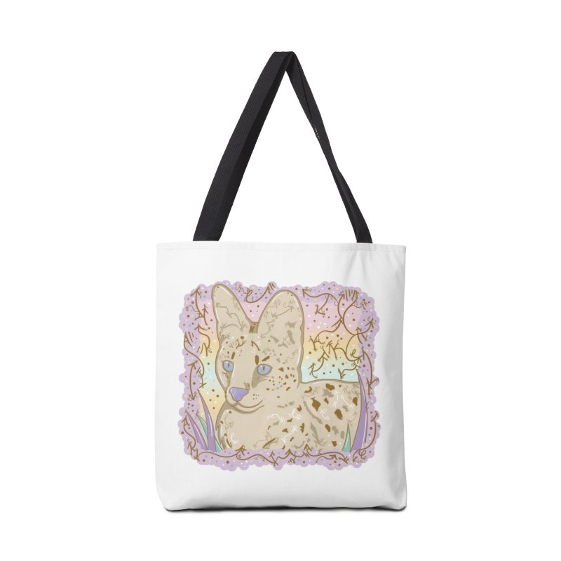 Little Serval Accessories Bag by VanillaKirsty's Artist Shop