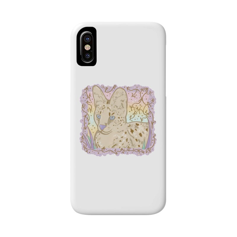 Little Serval Accessories Phone Case by VanillaKirsty's Artist Shop
