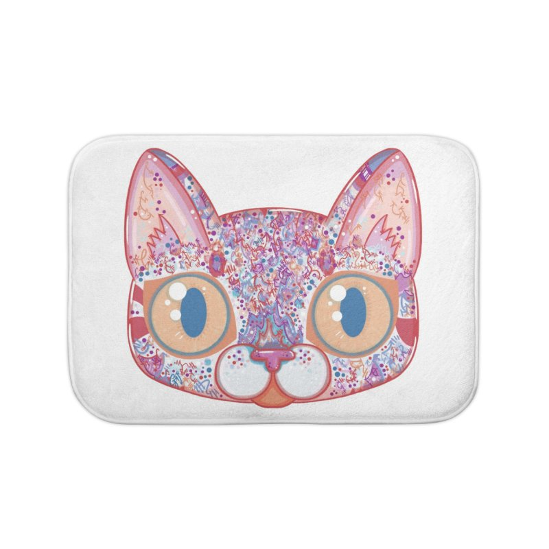 Chromatic Cat I Home Bath Mat by VanillaKirsty's Artist Shop