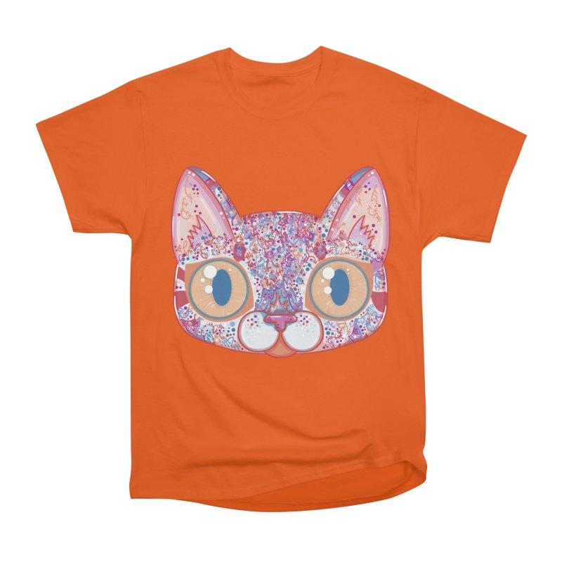 Chromatic Cat I Men's Heavyweight T-Shirt by VanillaKirsty's Artist Shop