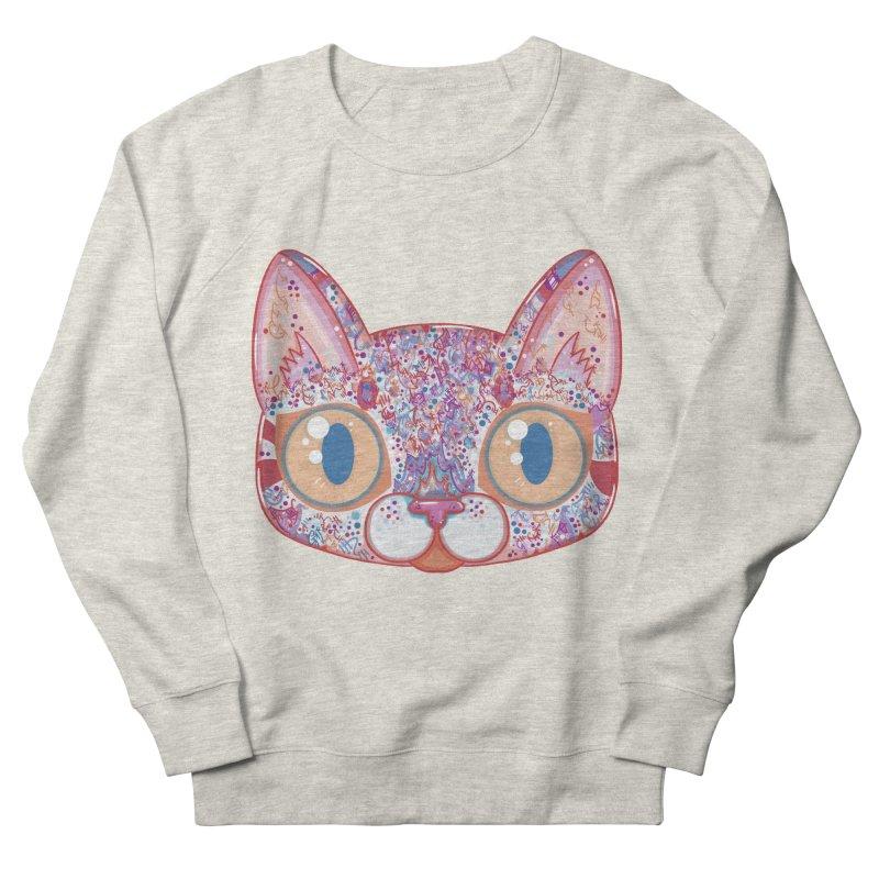 Chromatic Cat I Men's Sweatshirt by VanillaKirsty's Artist Shop