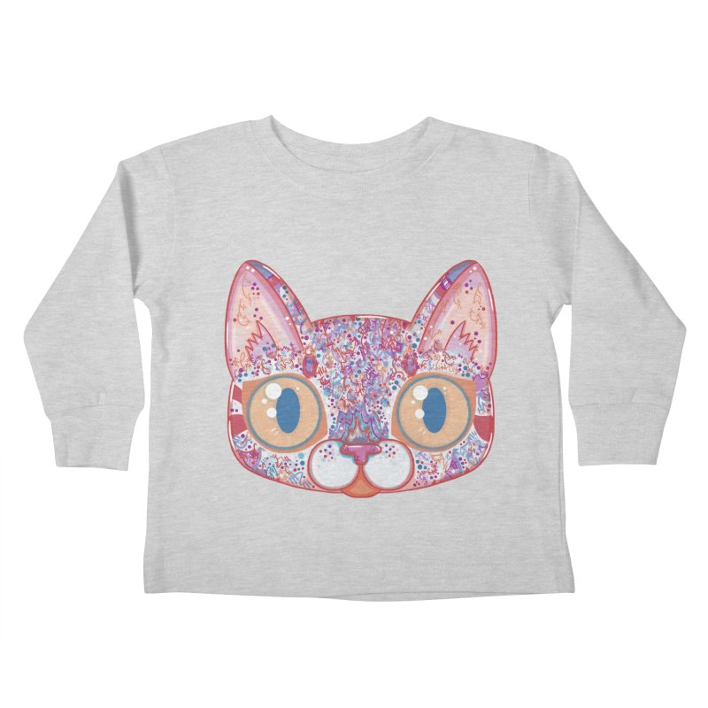 Chromatic Cat I Kids Toddler Longsleeve T-Shirt by VanillaKirsty's Artist Shop