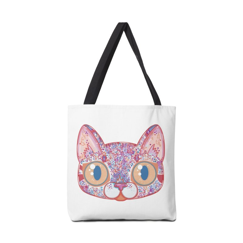 Chromatic Cat I Accessories Bag by VanillaKirsty's Artist Shop