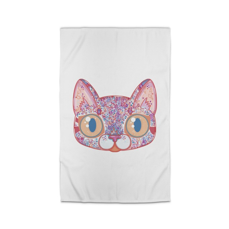 Chromatic Cat I Home Rug by VanillaKirsty's Artist Shop