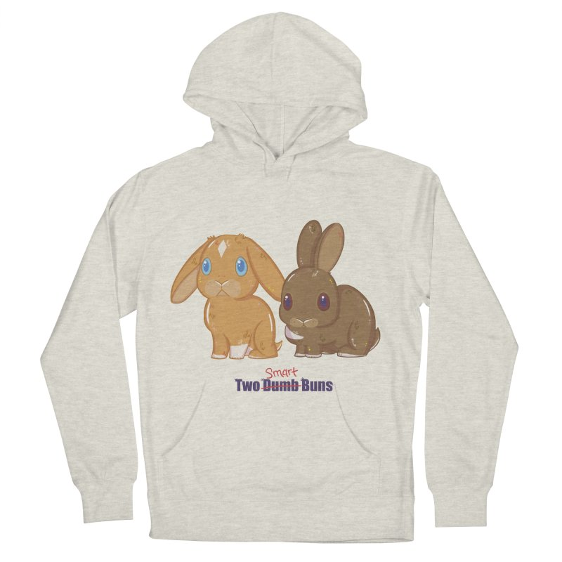 Two Dumb (Smart) Buns Women's Pullover Hoody by VanillaKirsty's Artist Shop