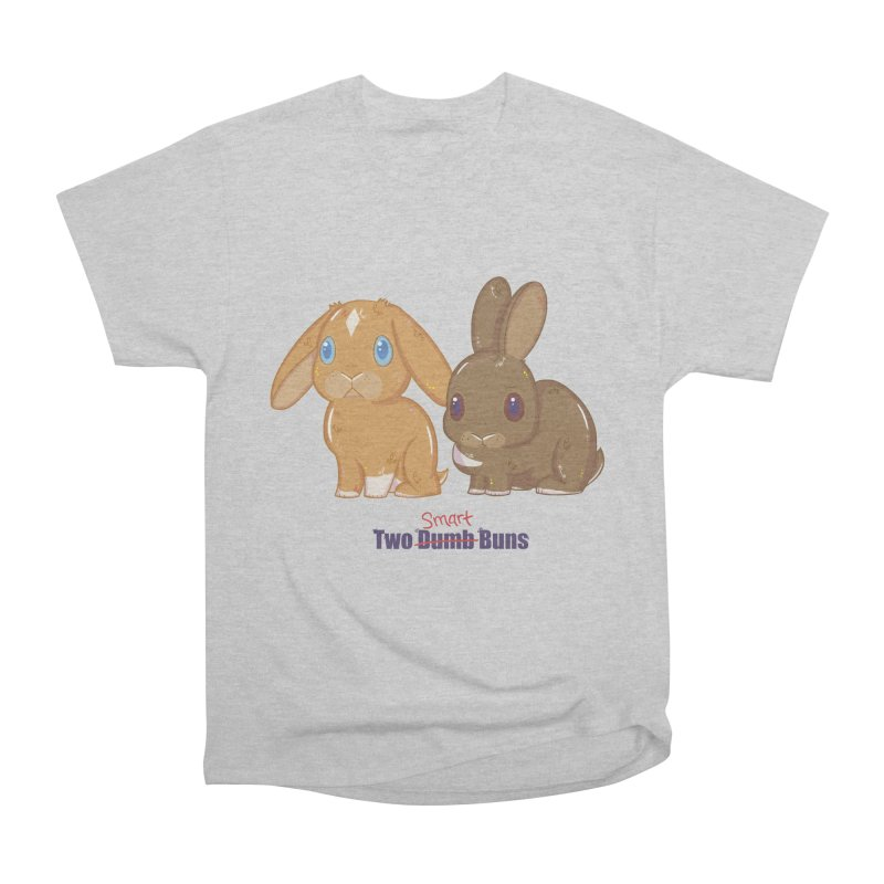 Two Dumb (Smart) Buns Women's Heavyweight Unisex T-Shirt by VanillaKirsty's Artist Shop