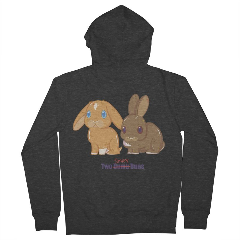 Two Dumb (Smart) Buns Women's Zip-Up Hoody by VanillaKirsty's Artist Shop