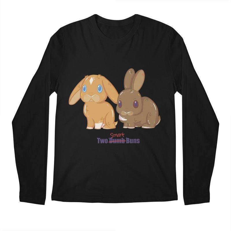 Two Dumb (Smart) Buns Men's Longsleeve T-Shirt by VanillaKirsty's Artist Shop