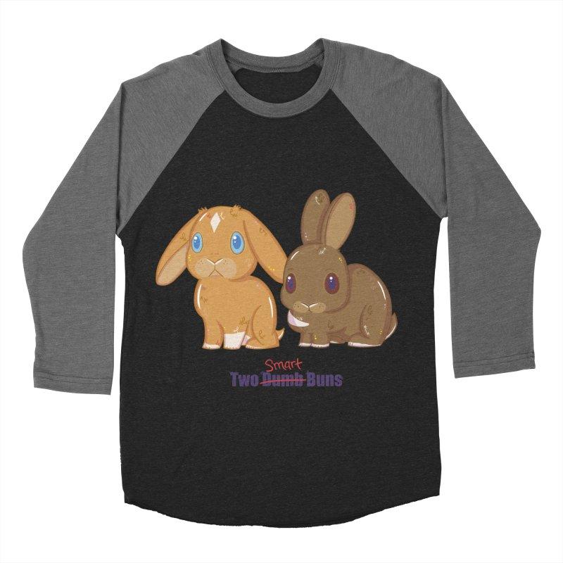 Two Dumb (Smart) Buns Women's Baseball Triblend T-Shirt by VanillaKirsty's Artist Shop