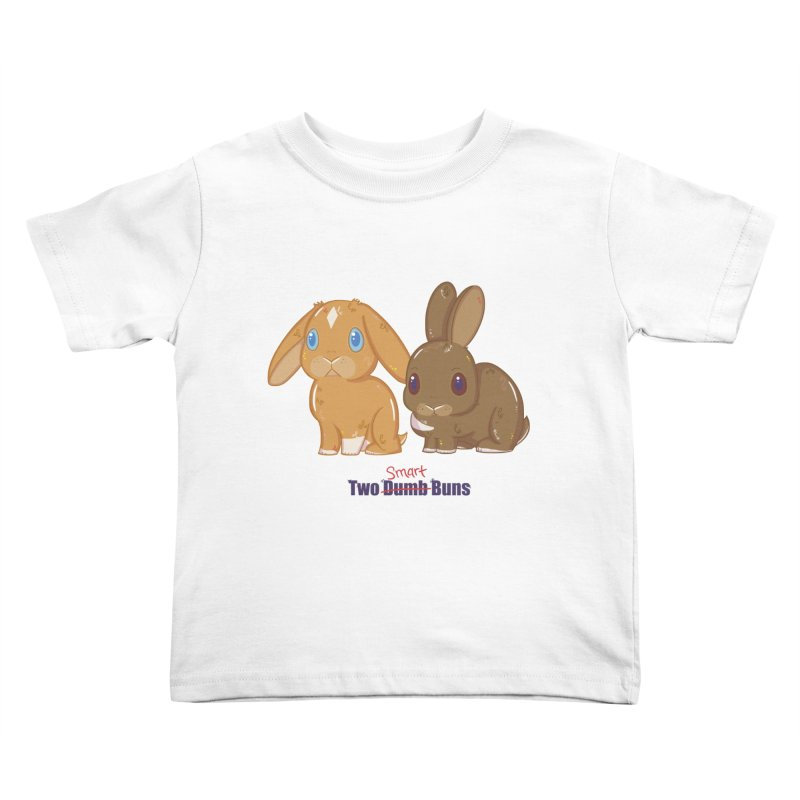 Two Dumb (Smart) Buns Kids Toddler T-Shirt by VanillaKirsty's Artist Shop